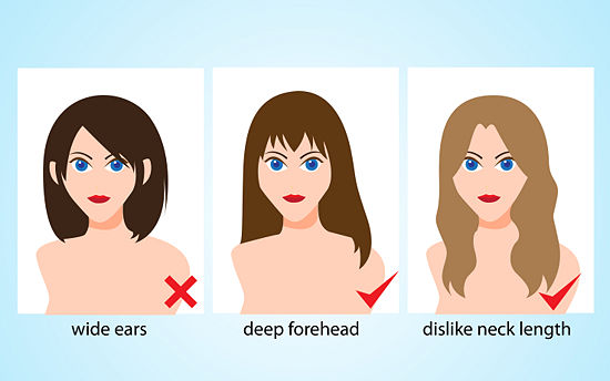 Short Hairstyles That Hide Your Forehead