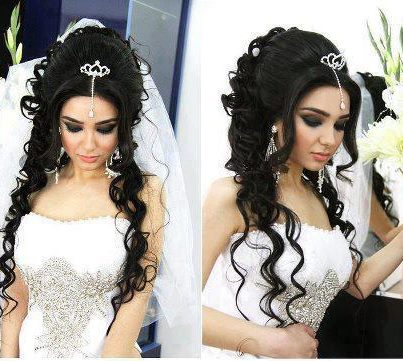wedding hairstyles lamasat. Black Bedroom Furniture Sets. Home Design Ideas